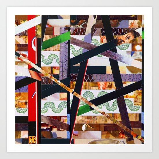 Ruben (stripes 19) Art Print