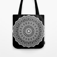 inception Tote Bags featuring Inception by Mr. Pattern Man
