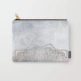 G.Marble-Wall Mandala Carry-All Pouch