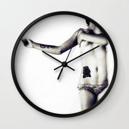 bleeding dreams Wall Clock
