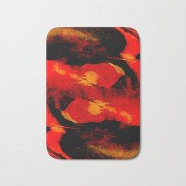 Abstract distortion Bath Mat