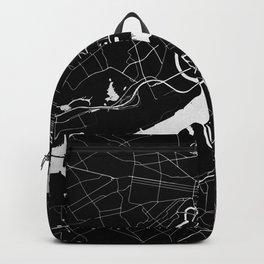 Philadelphia - Black and Silver Backpack