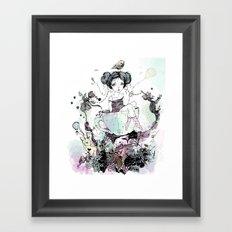 Migaja Framed Art Print