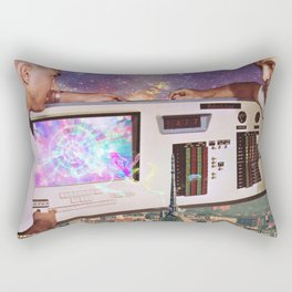 Power Source Rectangular Pillow