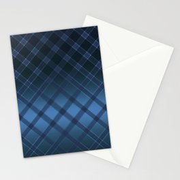 Beautiful oblique cell on a satin blue background . Stationery Cards