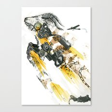 Cult of the Fast Machine Canvas Print
