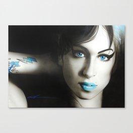 'Amy 'n' Blues' Canvas Print