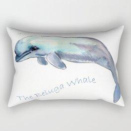 The Beluga Whale Rectangular Pillow