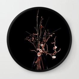 Flowers No.3 Wall Clock
