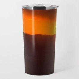 A Very Bozeman Sunset Travel Mug