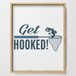 Get Hooked Serving Tray