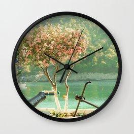 travel collection. Greece. Kefalonia Wall Clock