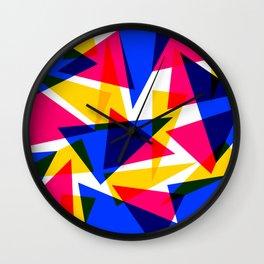 CMYK Shard Wall Clock