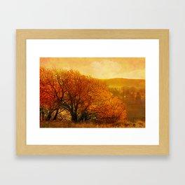Light is coming. Framed Art Print