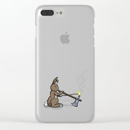 Smarter than the Monster Clear iPhone Case