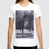 central park T-shirts featuring Central Park by Leah Moloney Photo
