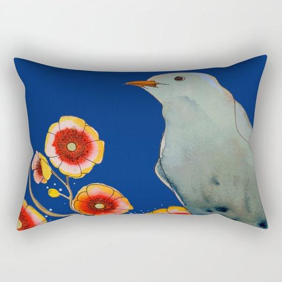 la brise (navy) Rectangular Pillow