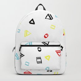 Coloured shapes Backpack