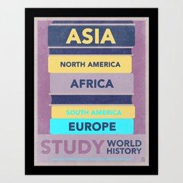 Study World History Art Print