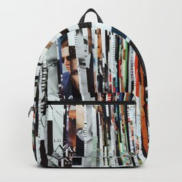 Space Strips - Collage Backpack