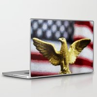 patriots Laptop & iPad Skins featuring America by ThePhotoGuyDarren