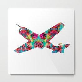 avion fleur 5 Metal Print