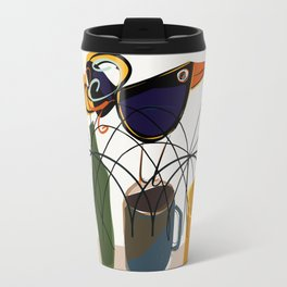 The bouncing bird Travel Mug