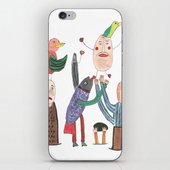 Crazy Egg. iPhone & iPod Skin