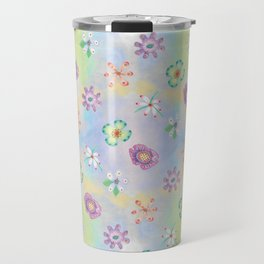 Candy Flowers 1 Travel Mug
