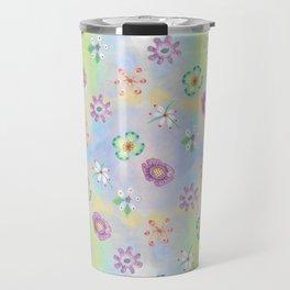 Candy Flowers 1 Travel Mug