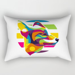 The Fox Inside Rectangular Pillow