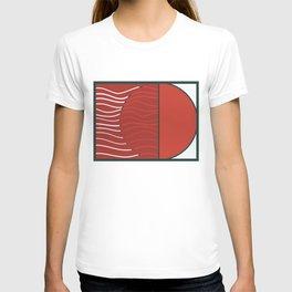 Japan sunset on Uranus T-shirt
