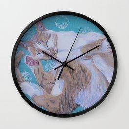 Zen Lily I Wall Clock