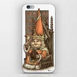 Gnome Queen iPhone Skin