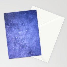Light Purple Galaxy Stationery Cards