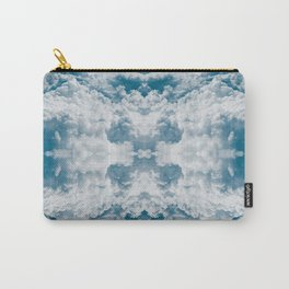 Heavenly Clouds Mandala | X Marks the Spot Carry-All Pouch