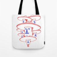 band Tote Bags featuring The Mariachi Band by David Penela