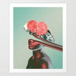 Lati Art Print