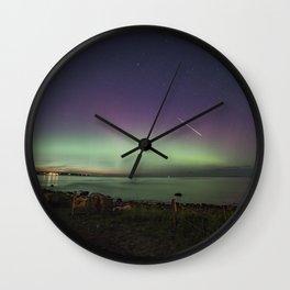 Aurora Fireball Wall Clock