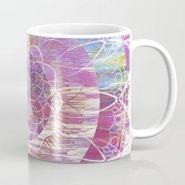 Glitch Mandala Coffee Mug