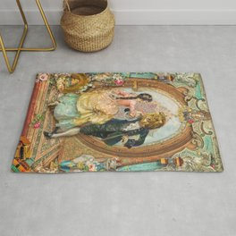 Beauty and the Beast Rug