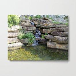 Rocky Waterfall Metal Print