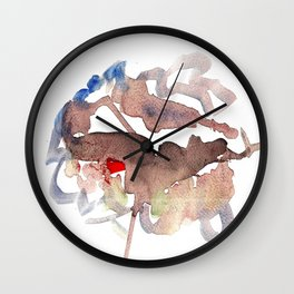 My name is watercolor Wall Clock