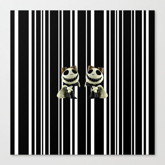 Halloween Prisoner   Jack   Christmas   Nigthmare Canvas Print