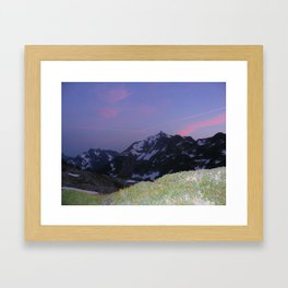 Better in the Dark Framed Art Print