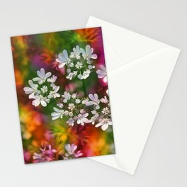 Floral Splash Stationery Cards