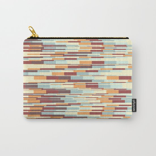 Abstract pattern 67 Carry-All Pouch
