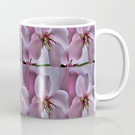Peach Blossom Flower Pattern Coffee Mug