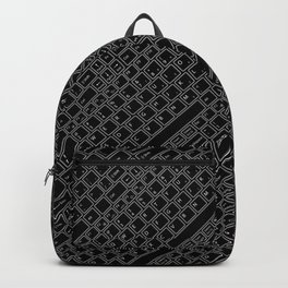 Keyboarded BLACK Backpack
