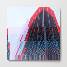 Manhattan Fracture Metal Print